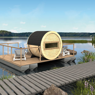 RENDERING FLOATING SAUNA